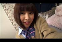 【自画撮り】H♥な制服娘のおま○こ*アナル見てみてオナニー Vol.01