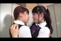 制服娘シマイと先輩のトライアングルLOVE3Pレズ Vol.02