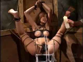 マングリ返し完全拘束…浣腸とバイブ責めにヨガり狂いアクメ地獄に堕ちる変態女!